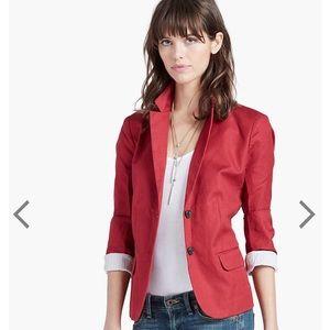 NWOT Lucky Brand Red Feminine Blazer